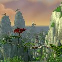 Looking out of The Jade Forest peaks