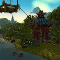 Pandaren camp in Stormwind