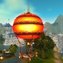 Pandaren Hot air balloon